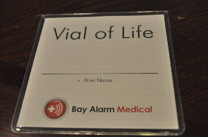 bay alarm EMT Card