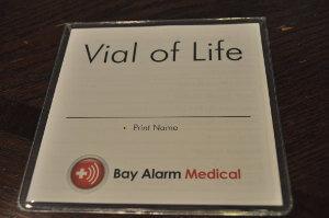 bay alarm EMT Card